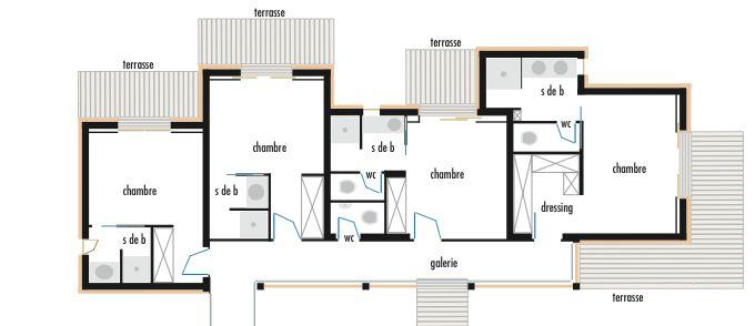votre avis sur le premier plan maison plain pied 200m2. Black Bedroom Furniture Sets. Home Design Ideas