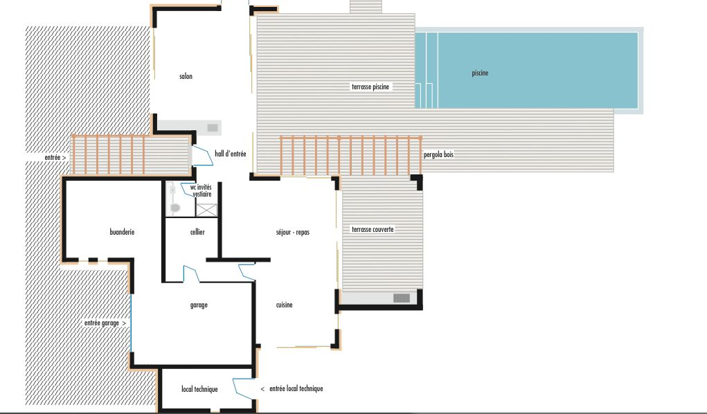 Plan maison 200m2 aspremont maison 200 m avec 7 pices for Plan maison 200m2