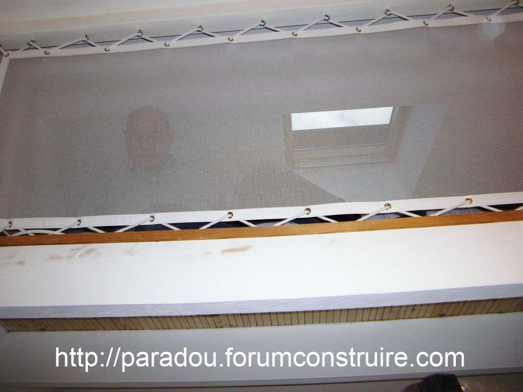 Pose du parquet finitions pose des sanitaires 1ere pose du filet de mezza - Filet mezzanine prix ...