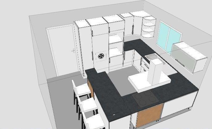 Fin enduit les bandes plan cuisine podensac gironde for Plan de travail imitation beton cire