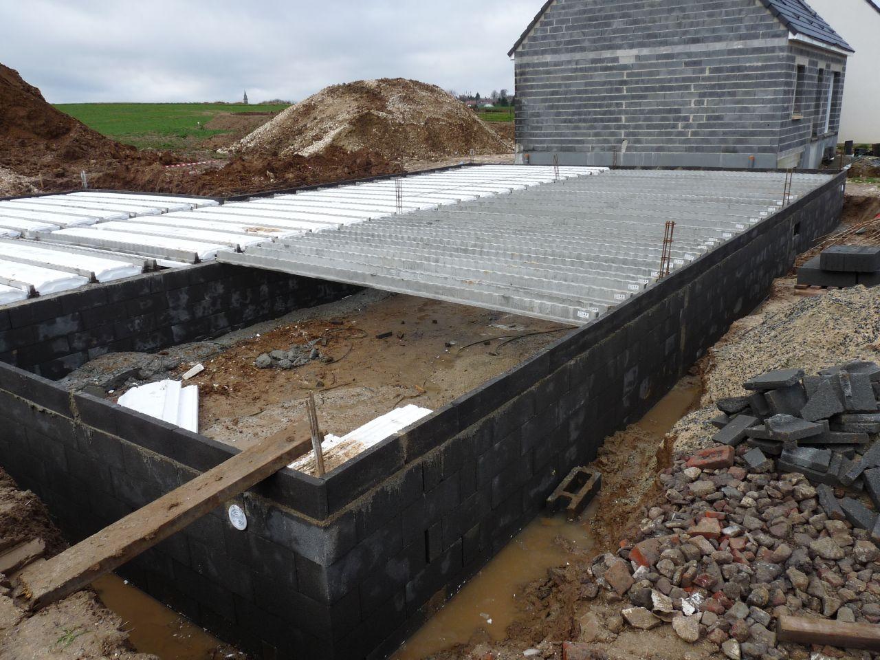fondations vide sanitaire suite gouzeaucourt nord. Black Bedroom Furniture Sets. Home Design Ideas