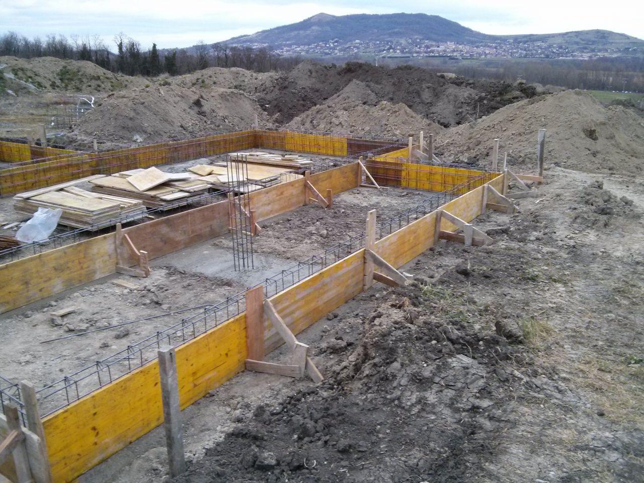 fondations coul es visite sur chantier dalle coul e
