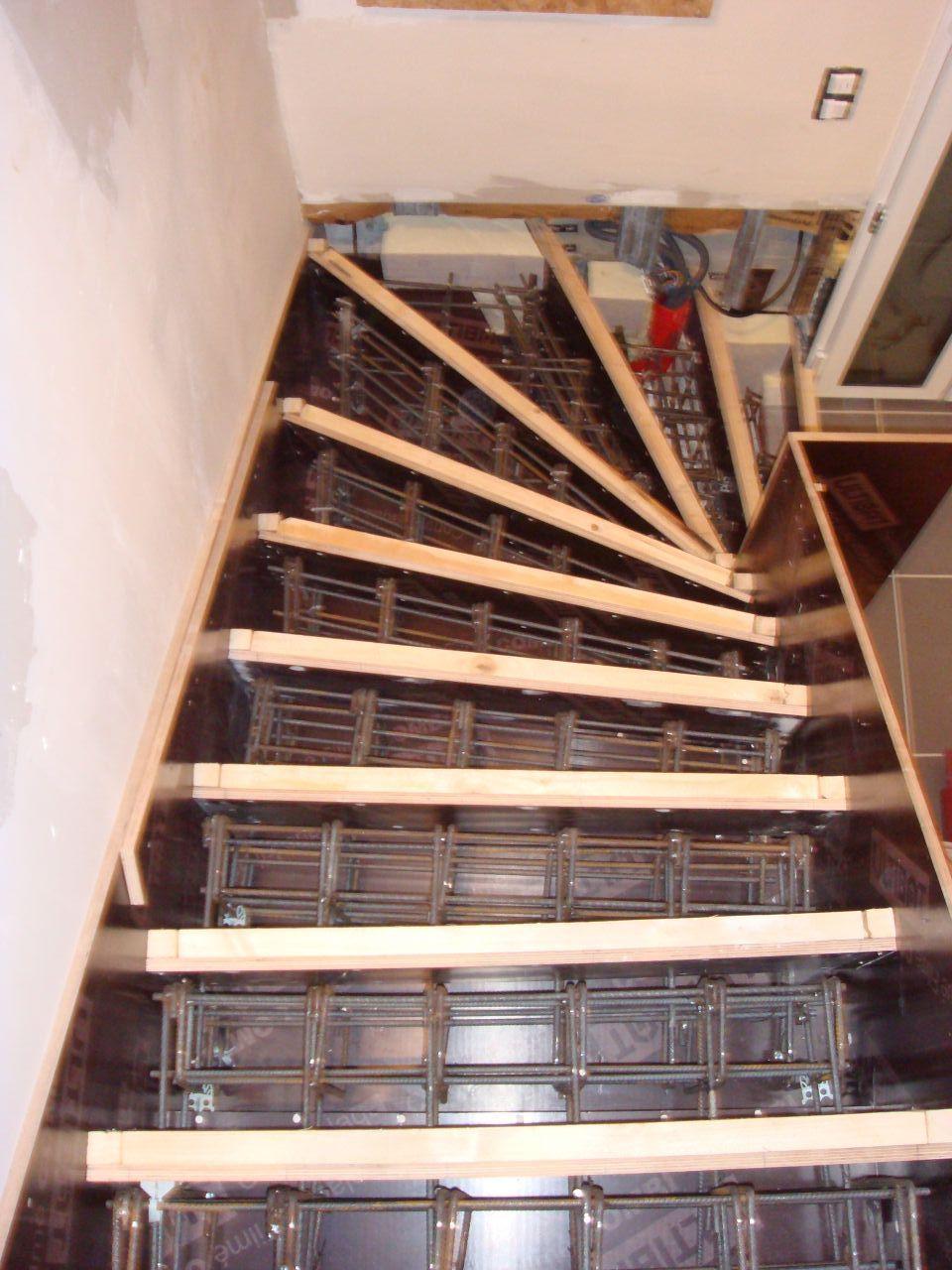 Casser Un Escalier Beton réalisation d'un escalier à crémaillère en béton - 31 messages