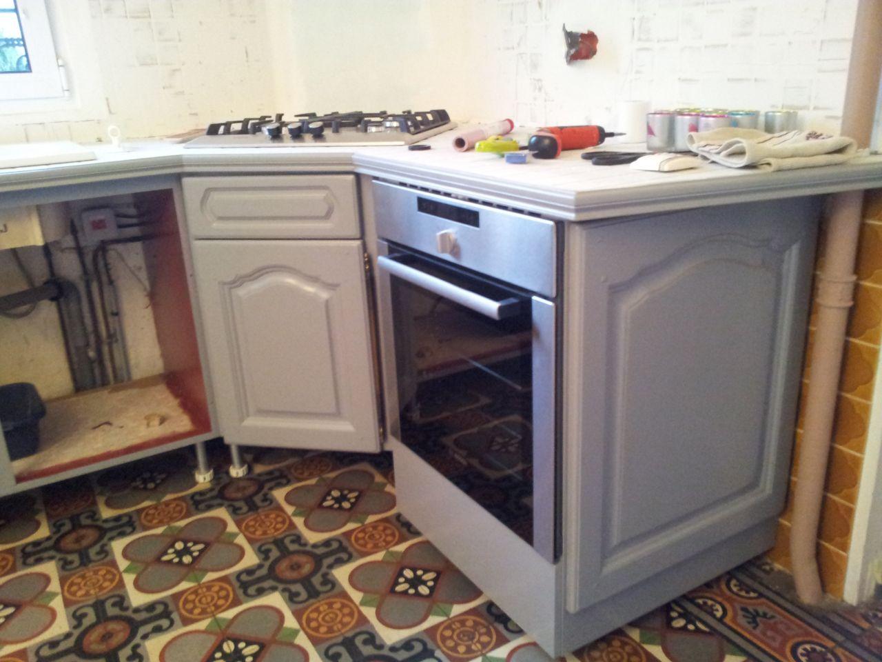 les travaux du week dernier dans la cuisine yvelines. Black Bedroom Furniture Sets. Home Design Ideas