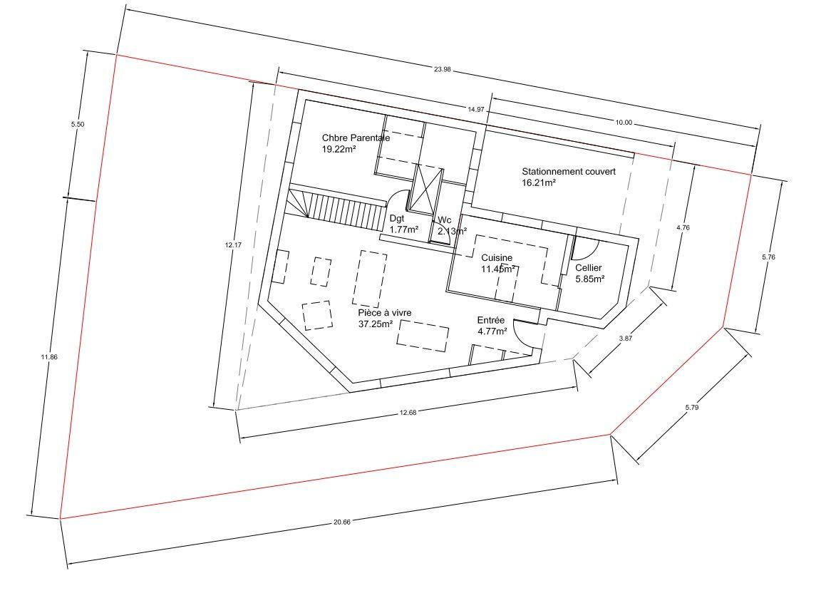 avis sur plan presque d finitif maison etage 120m 36 messages. Black Bedroom Furniture Sets. Home Design Ideas