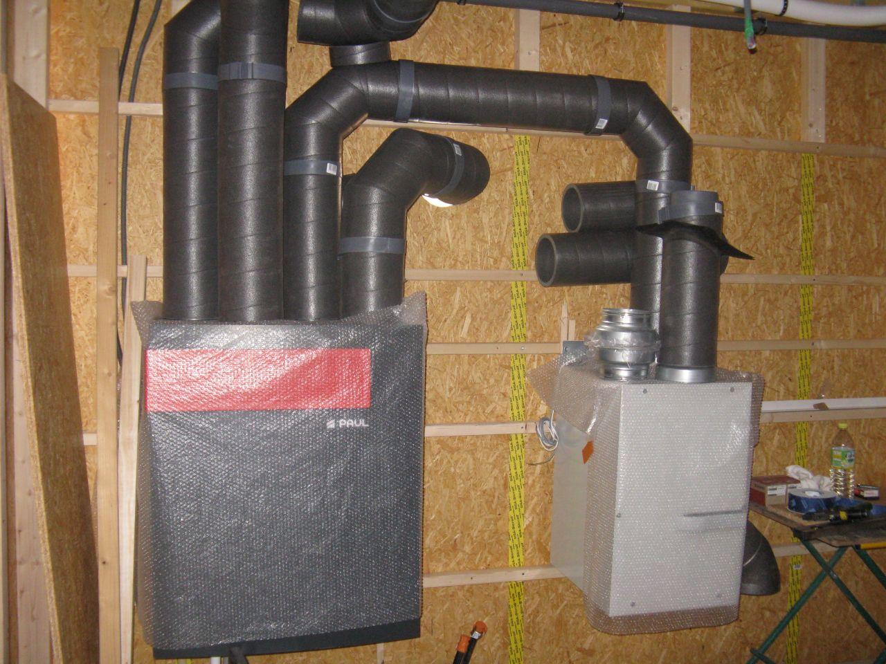 VMC double flux   puits canadien
