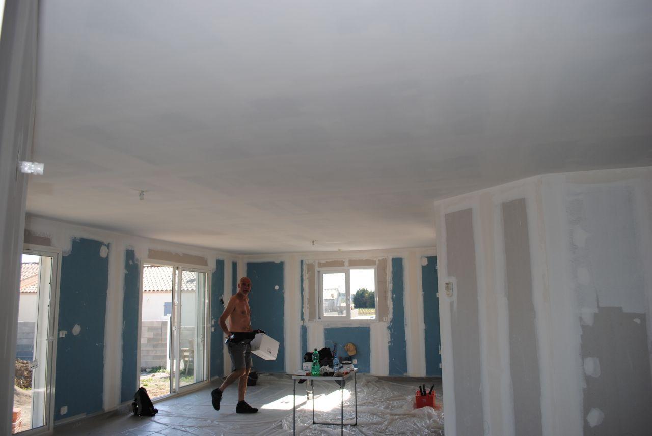 photo sous couche plafond peinture aude 11. Black Bedroom Furniture Sets. Home Design Ideas