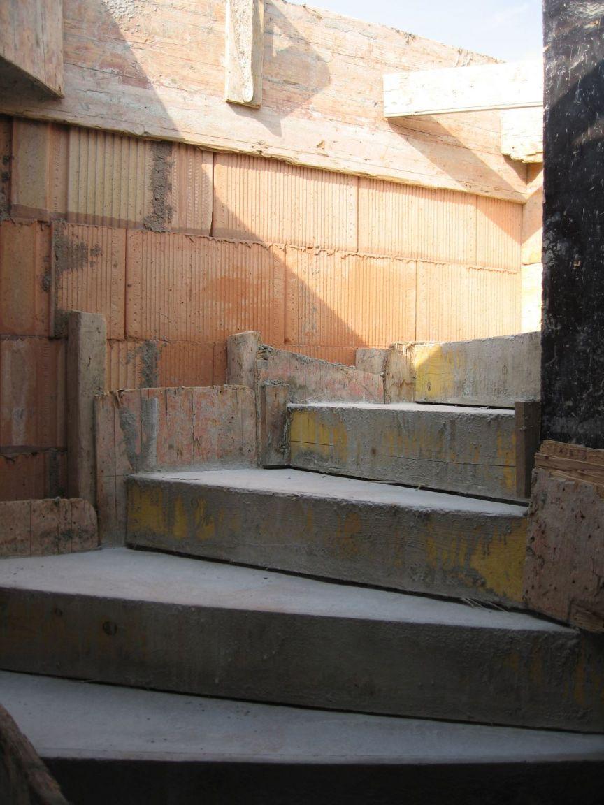 L'escalier vers l'étage