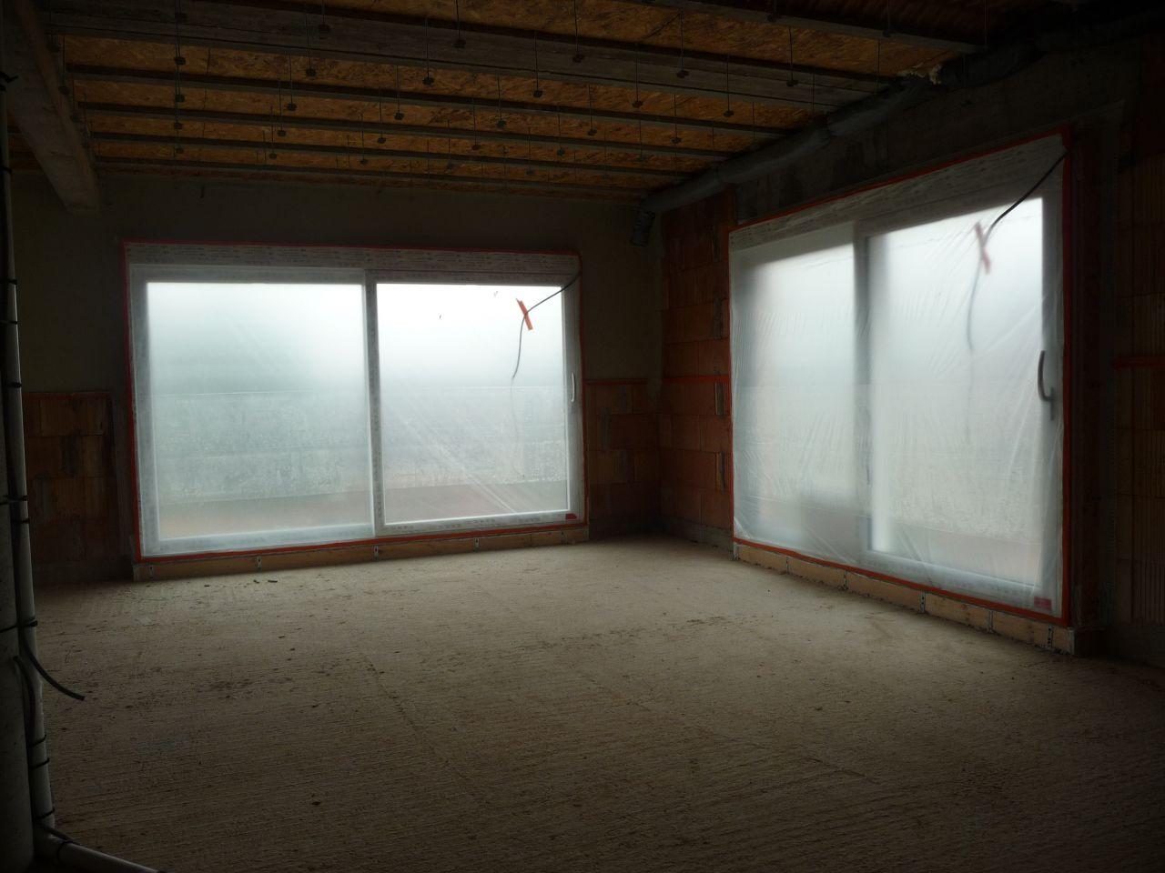 vue de la protection des fenêtres avant projection