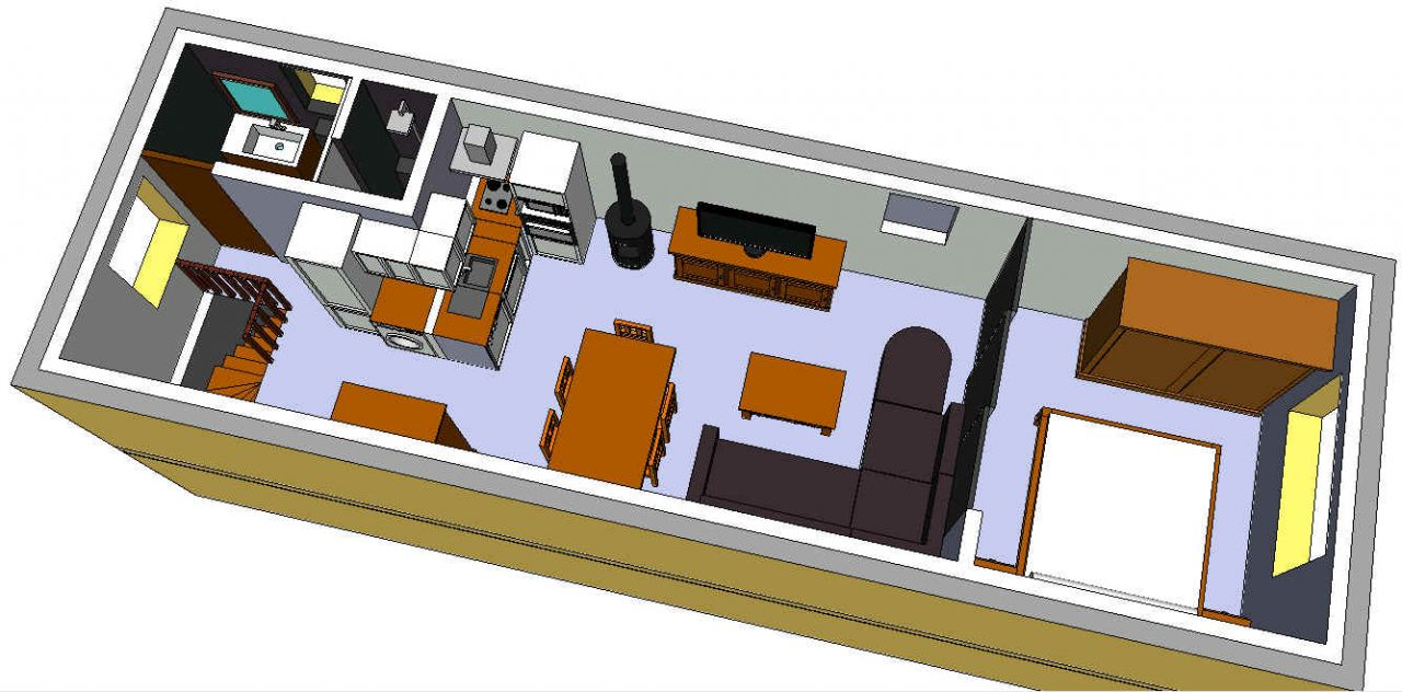 avis sur plan am nagement studio 40 m2 36 messages. Black Bedroom Furniture Sets. Home Design Ideas