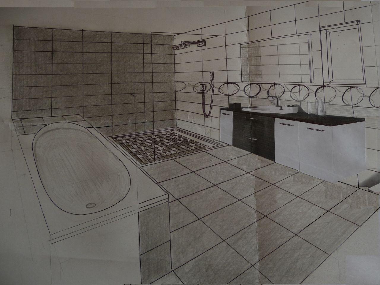 Disposition salle de bains
