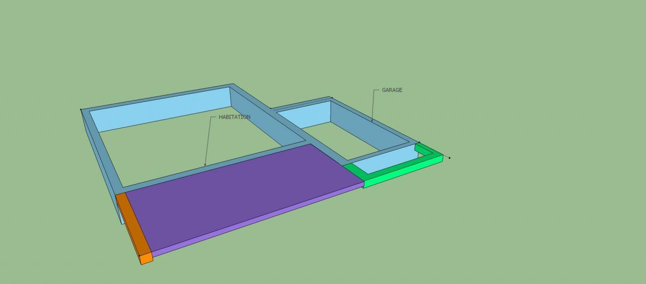 Aide sur charpente reprise sur toiture existante svp 9 - Baie vitree pour toiture ...