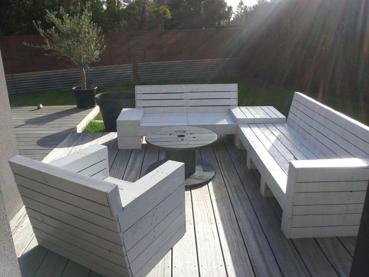 Plan Salon De Jardin En Palette De Bois – Qaland.com