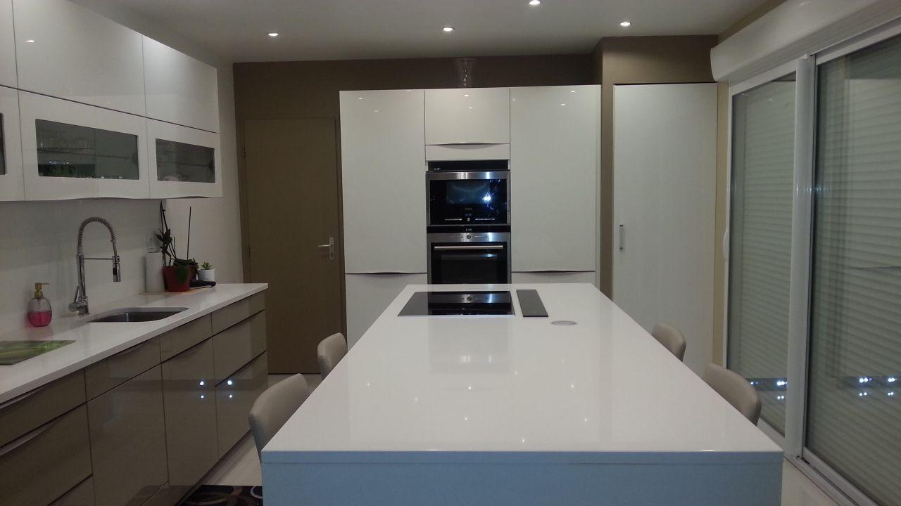 cuisine ikea ringhult blanc brillant zf42 jornalagora. Black Bedroom Furniture Sets. Home Design Ideas