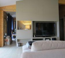 lampe ikea pour le meuble tv