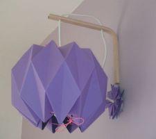 lampe origami