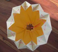 Lampe origami (n°2)
