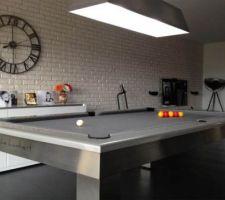 Le Lambert Table. Notre futur table de salle et billard !