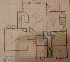 Plan dessine avec ma femme a 00h00 quand notre fils de 20 mois roupillait lol
