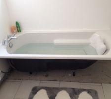 La baignoire pour faire dodo
