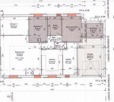 Voici le plan de la maison que nous avons fourni pour le PC.