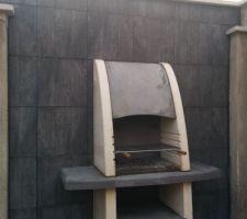 Barbecue en béton du Portugal