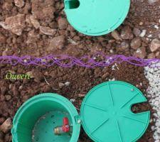 petite vanne pour brancher un tuyau d arrosage