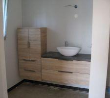 salle de bain presque terminee