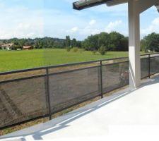 Sur le balcon de 25 m2