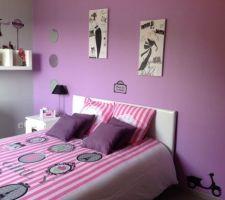 Nouveau lit et nouvelle déco sur le thème de la mode pour ma grande