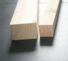6 tasseaux '3 paires de 25x25 et 48x33
