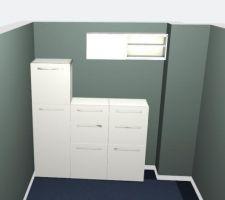 Idée d'aménagements Besta pour le bureau