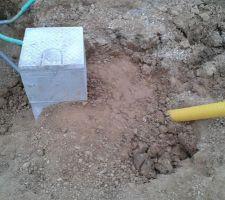 Puits de décompression des drainages