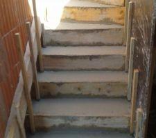 Construction escalier intérieur