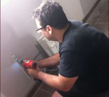 demontage des radiateurs pour peindre