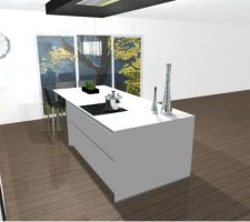 premier plan de la cuisine vue 3