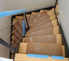 escalier loft menuiserie rieuxoise nord