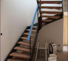 Escalier ''loft'' Menuiserie Rieuxoise (Nord)
