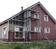 La façade SUD-EST