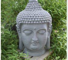 tete de bouddha reperee