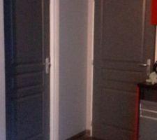 Porte cellier et garage jolies non? faites par ma moitié ^^