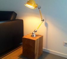 creation d une lampe d appoint