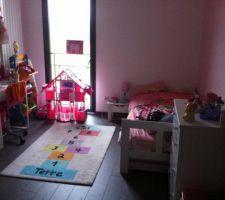 chambre de ma fille princesse