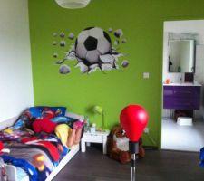 chambre de ma fille footballeuse