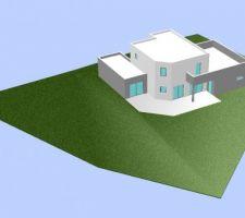 auto construction maison moderne