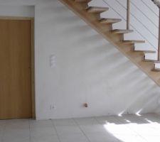 l escalier droit