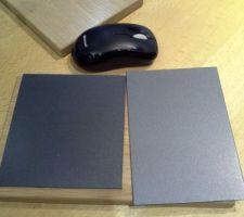 couleur rampe soit gris anthracite soit plus clair a redefinir