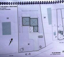 projet maison artis 138m2 implantation