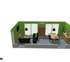 logiciel 3 d avec mesures exactes des meubles et cotes des murs exactes avec le colorie que nous souhaitons