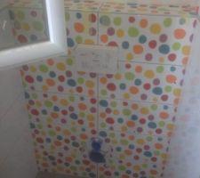 wc enfants colores